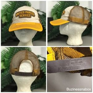 Vtg United Parcel Service Trucker Hat